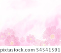 Background cosmos pale pink 54541591