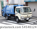 쓰레기 트럭 54546124