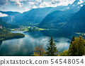 Top view of the landscape around Lake Hallstatt 54548054
