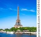 世界遺產巴黎塞納河埃菲爾鐵塔 54549840