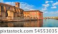 Venetian castle in Chioggia, Venice, Italy 54553035