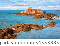 English Channel by Saint-Malo, Brittany, France 54553885