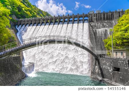 일본 댐 어워드 방류 수상! 일본 제일 아름다운 千苅 댐 (효고현 고베시 기타 구 도장 마을) ※ 작품 설명란에 촬영 위치 54555146