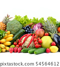 Useful tasty vegetables, fruits and berries 54564612