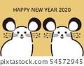 新年的卡老鼠 54572945