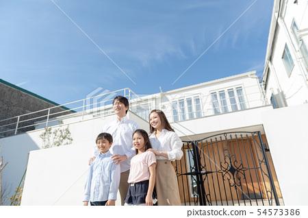 Family, home 54573386