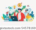 買賣 生意 商務活動 54578169