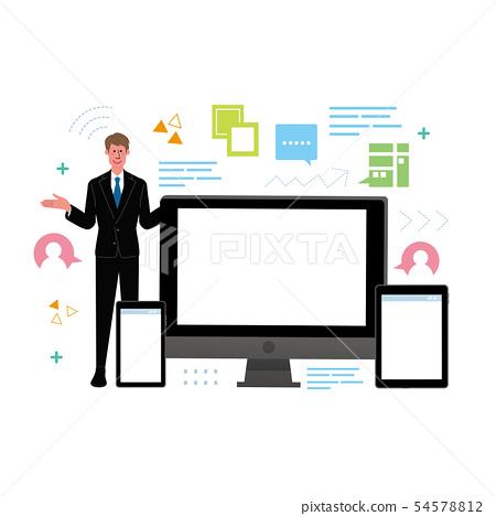 디지털 가전 PC 스마트 폰 태블릿 54578812