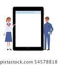 디지털 가전 태블릿 학생 고등학생 중학생 54578818