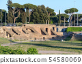 The Circus Maximus ruins, in Italian Circo Massimo 54580069