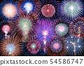 【Akita Prefecture】 Omaki's fireworks nationwide fireworks display 54586747
