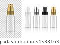 Transparent Spray Bottle. 3D Mock up Realistic 54588163