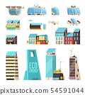 Smart City Technology Set  54591044