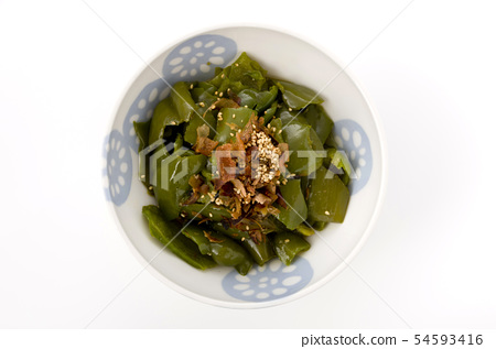 Stir fry of peppers 54593416