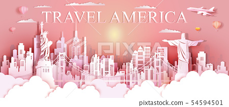 Tour landmarks United States and south America 54594501