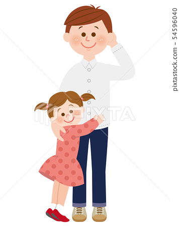 Dad and daughter 54596040