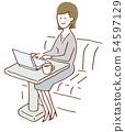咖啡館工作研究 54597129