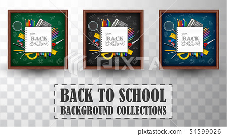 Back to school background collections 54599026