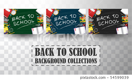 Back to school background collections 54599039
