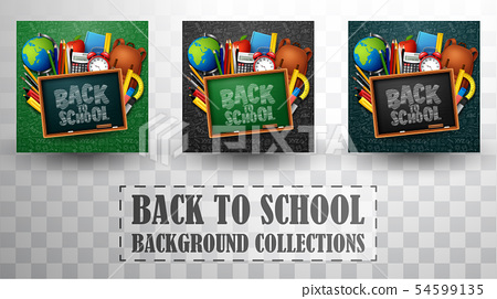 Back to school background collections 54599135