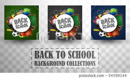 Back to school background collections 54599144