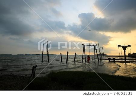 바닷가의추억,해변,바다풍경! 54601533