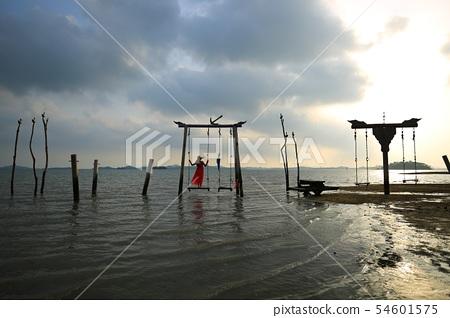 바닷가의추억,해변,바다풍경! 54601575