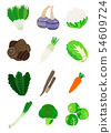 冬天的蔬菜 54609724