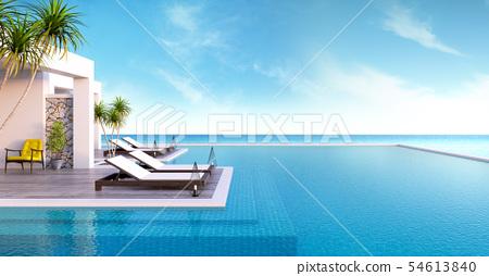 private swimming pool 54613840