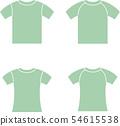 반소매 T 셔츠 54615538