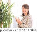 有智能手機的女商人 54617848