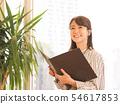 文件的女商人 54617853