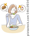 饮食饮食限制女人 54619934