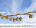 An assortment of Bird boxes 54620131