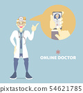 telemedicine doctor online health care chat 54621785