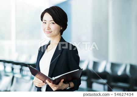 비즈니스 사무실 사업가 여성 54627434
