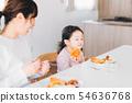 家庭年輕的家庭 54636768