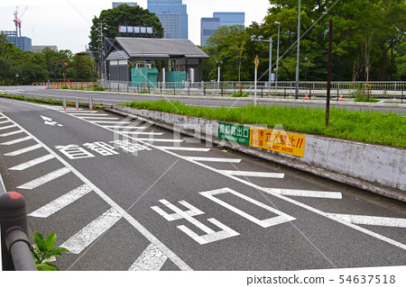 Tokyo Metropolitan Expressway Tokyo Ring Line, Daikancho exit reverse run (entry / entry) prohibition sign 54637518