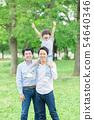 男性三代家庭形象 54640346