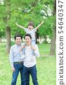 ภาพครอบครัวตระกูลสามชั่วอายุคน 54640347