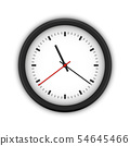 Simple round wall clock 54645466