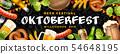 Oktoberfest Beer Festival Banner 54648195