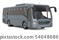 Modern tourist bus, 3D rendering 54648686