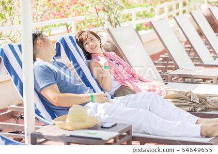 海外旅行Middle Maru度假村酒店池畔 54649655