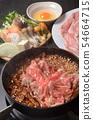 Sukiyaki iron pot 54664715