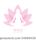 yoga for pregnant women pink lotus flower 54666436