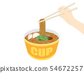 Cup udon 54672257
