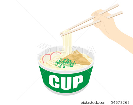 Cup udon 54672262