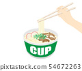 Cup udon 54672263
