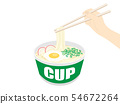 Cup udon 54672264